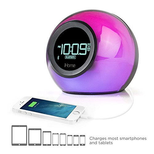 iHome IBT29 Bluetooth Color-Changing Dual...