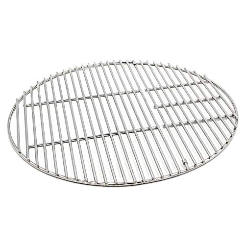 Hongso SUS304 Stainless Steel Round Cooking Grid Grate Replacement Part for Large Big Green Egg, Char-Griller, Kamado Joe, Vision Grill VGKSS-CC2, B-11N1A1-Y2A Gas Grill, 18 1/2 Inch Diameter (BGE18)