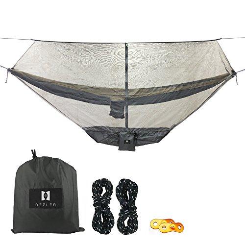 LinkHealth Camping Hängematte Bug und moskitonetz - 360 ° Mesh - netze Hält Nicht Schutz Perfekt Sehen ums, Mücken und Insekten - Passt Fast Alle Hängematten (moskitonetz mit Speicher Tablett)