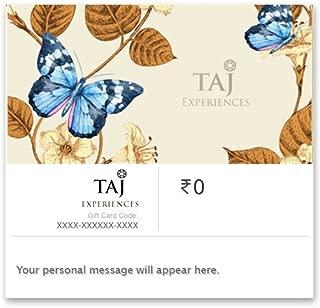 Flat 10% off on Rs.5000 & above||TAJ EXPERIENCES E-GIFT CARD