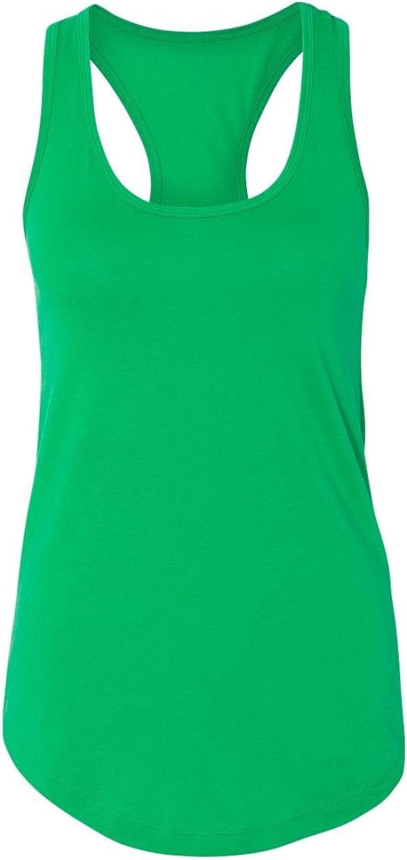 Next Level Women's Apparel Ideal Quality Tank Top, Kelly Green, XXL- 16-18