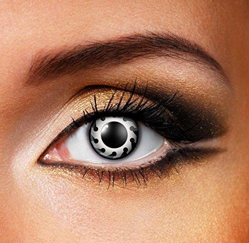 Funky Vision Kontaktlinsen - 3 Monatslinsen, Circular Saw, Ohne Sehstärke, 1 Stück