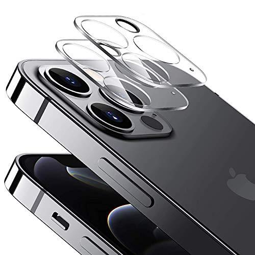 2枚入り iPhone 12 Pro カメラフイルム日本旭硝子素材レンズ保護フィルム露出過度を防ぐ/超強夜景撮影/ 旭硝子製硬度9H/キズ防止/耐衝撃アイフォン 12 Pro カメラ保護ガラスフイルム
