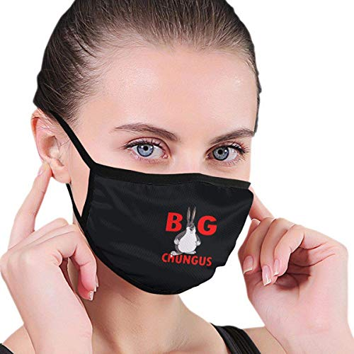 SLJD Mouth Cover,Big Chungus Washable Mouth Cover for Men & Women
