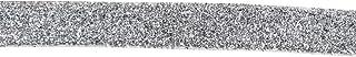 أشرطة مخملية مرنة لامعة قابلة للتمدد بطول 30 متر من سوبوكس لأطواق الشعر وأربطة الشعر للملابس (فضي)