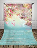 150 x 300 cm, fondo de fotografía de flores para recién nacidos, mascotas, fondo para primavera, Pascua, D-9923 (NIVIUS PHOTO)