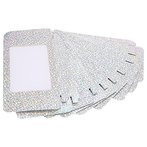 LZKW Boîte d'emballage de Faux Cils, boîte Vide de Faux Cils 10pcs Boîte d'emballage de Faux Cils Poids léger et Petite Taille pour Le Voyage pour la Maison(D15)