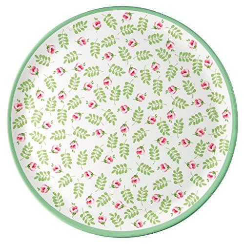 GreenGate - Esstelle - Speiseteller - Lily Petit- Melamin - Ø 23,5 cm
