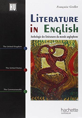 Anthologie des littératures du monde anglophone : literature in english