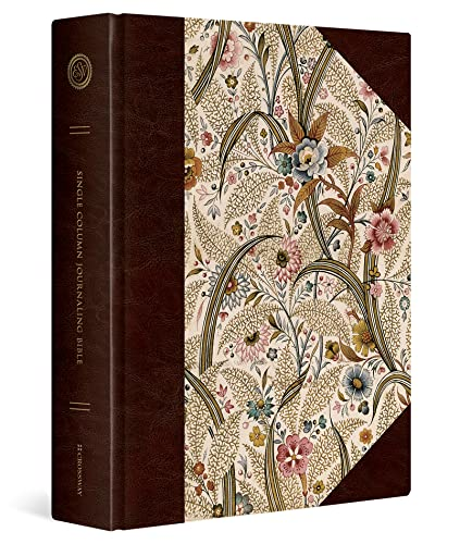 ESV Single Column Journaling Bible, Large Print (Summer Garden)