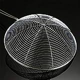 Zoom IMG-2 dmfshi stainless steel strainer spoon