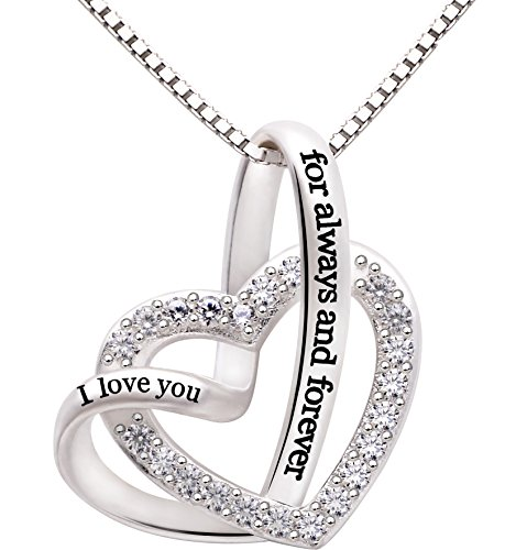 ALOV Jewelry Sterling Silver I Love You for...