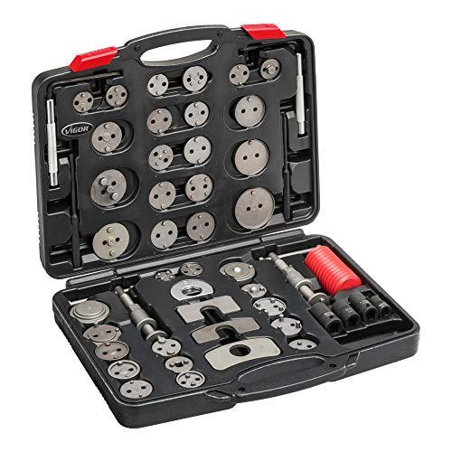 Vigor V3760N - Juego de herramientas de freno (50 piezas)