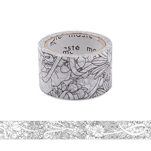 マークス『ぬり絵ができるマスキングテープ(MST-ZC02-B)』