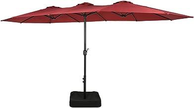 3m parasol with crank