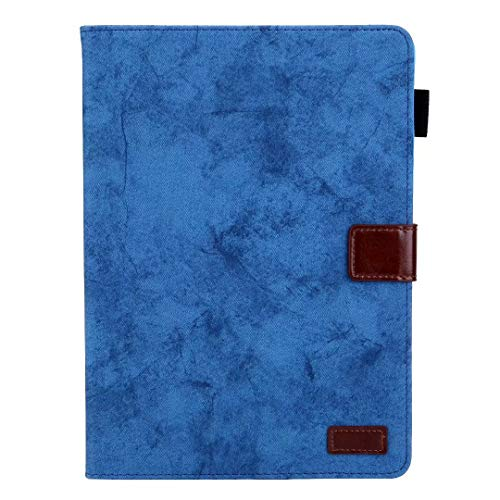 Hoesje voor Samsung Galaxy Tab A 8.0 2019 SM-T290/T295, Schokbestendig Premium PU lederen Business Stand Folio Smart Case Cover Tablet Auto Wake/Sleep Document Card Slots, Meerdere kijkhoeken