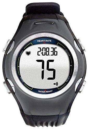 Speq - Cardiofrequenzimetro, con cardiofrequenzimetro, contacalorie, orologio sportivo con cinturino toracico (antracite)