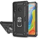YmhxcY Coque Huawei P30 Lite/Nova 4e avec Verre Trempé Protection écran[2 Pièces],Anneau Support...
