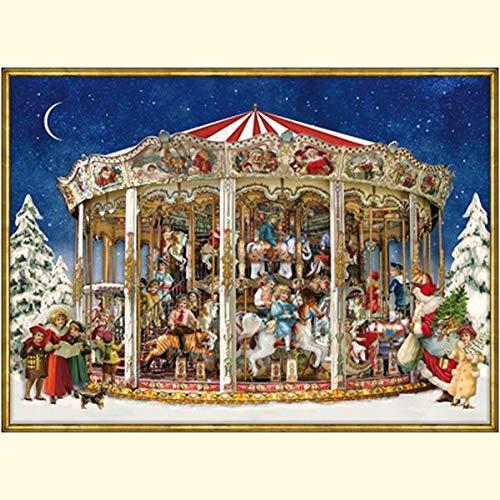 Nostalgisches Weihnachtskarussell (Adventskalender)