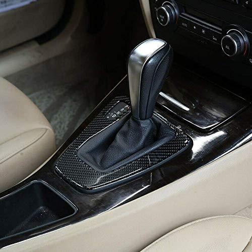 znwiem Carbon Auto Schaltpaneel Zierblende für BMW 3er E90 E92 E93 2005-2012 Autoinnenausstattung