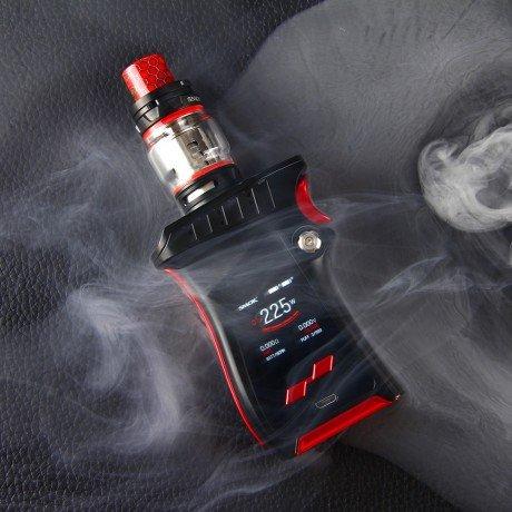 Smok Mag Kit With Smok Prince TFV12 , 225w - Latest Generation Kit by Smok - No Nicotine (Silver/Black)