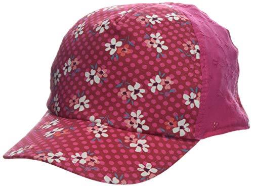 maximo Mädchen Basecap Blumen Kappe, Rot (Richelieu/Weiß 3625), 51