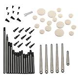 MagiDeal Set de Clarinete Reparación Mantenimiento Herramientas Piezas Tornillos de Husillo Hoja de Resorte Pernos de Sondeo Accesorios para Instrumentos de Viento