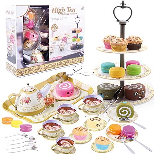 39pcs Little Girls Tea Set