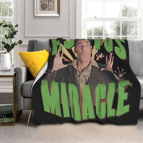 BAMANER Seinfeld FES-tivus Miracl Soft and Warm Throw Blanket Fleece Blanket Super Warm Double-Sided Blanket