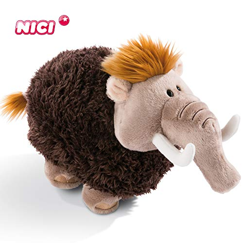 Nici Plüschtier Mammut 25 cm – Mammut Kuscheltier für Jungen, Mädchen & Babys – Flauschiges Stofftier zum Kuscheln, Spielen und Schlafen – Gemütliches Schmusetier für Kuscheltierliebhaber – 45308