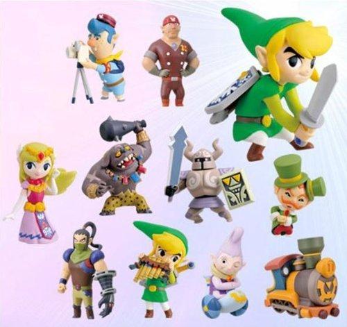 Legend of Zelda Spirit Tracks 2 Inch PVC Set of 11 Figures by The Legend of Zelda: Spirit Tracks