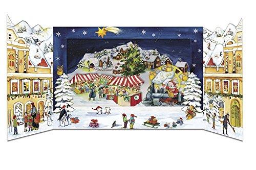 Weihnachtszauber in der Stadt: Pop-Up-Adventskalender zum Aufstellen