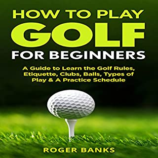 How to Play Golf for Beginners audiobook cover art