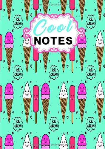 Eiscreme Notizbuch: Eisgekühltes Notizbuch für Eis Liebhaber
