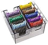 Rotschopf24 EDITION Moser Haartrimmer REX1233 Adjustable + 8 Metall-Aufsteckkämme. Präzisionsschneidsatz! Made in Germany! - 3
