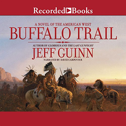 Buffalo Trail audiobook cover art