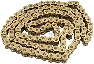 TCMT O-Ring Drive Chain Gold 530 Pitch 130 Link Fits For Suzuki GSXR 1000 2001-2010