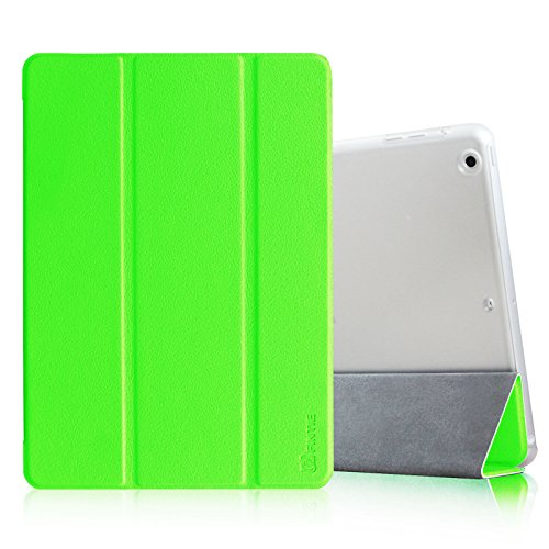 Fintie Case for iPad Air - Lightweight Smart Standing Cover with Semi Transparent Back Cover Supports Auto Wake/Sleep for Apple iPad Air (2013 Model) - Green