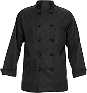 Unisex Long Sleeve Button Chef Coat