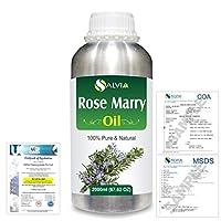 Rose Marry (Rosmarinus officinalis) 100% Natural Pure Essential Oil 2000ml/67 fl.oz.