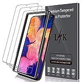 LK Verre Trempé pour Samsung Galaxy A10 [3 Pièces], Anti-Rayures HD Film Protection...