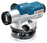 Bosch Professional Nivel óptico GOL 26 G, 26 aumentos, maletín, regla graduada GR500, trípode BT 160 (061599400C)
