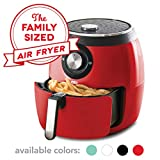 Dash DFAF455GBRD01 Deluxe Electric Air Fryer + Oven Cooker with Temperature Control, Non Stick Fry...