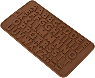 Electomania Silicon Chocolate Mould Silicone Alphabets Shape Chocolate Jelly Candy Mold, Cake Baking Mold, Bakeware Mould...