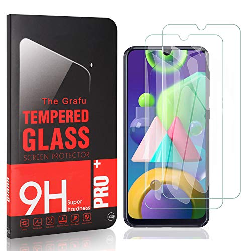 Buy Bargain The Grafu Screen Protector for Galaxy A41, Ultra Clear, 9H Tempered Glass Screen Protect...