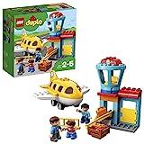 LEGO 10871 Duplo Town Aeropuerto, Juguete de Construcción para Niños y Niñas +2 años con 3 Mini Figuras