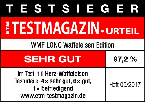 WMF-LONO-Waffeleisen-Edition-Herzwaffeleisen-stufenlos-einstellbarer-Braeunungsgrad-900-W-cromargan-mattsilber