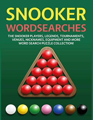 Snooker Wordsearches: The Snooke...
