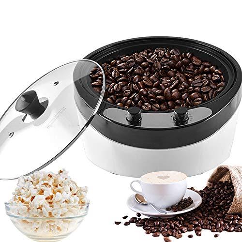 Tostador de café, TOPQSC Función de cuenta regresiva de la pantalla digital de la máquina de tostado de grano de café para uso doméstico 220V / 1800W