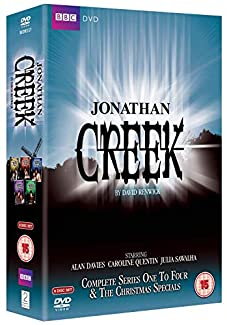 Jonathan Creek - Complete Series One To Four & The Christmas Specials